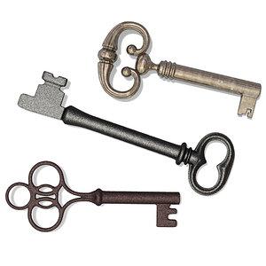 3d 3 skeleton keys model