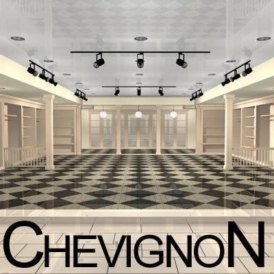 chevignon shop 3d model
