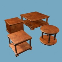 tea table 3d model