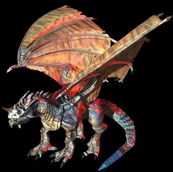 lightwave dragon wing monster beast