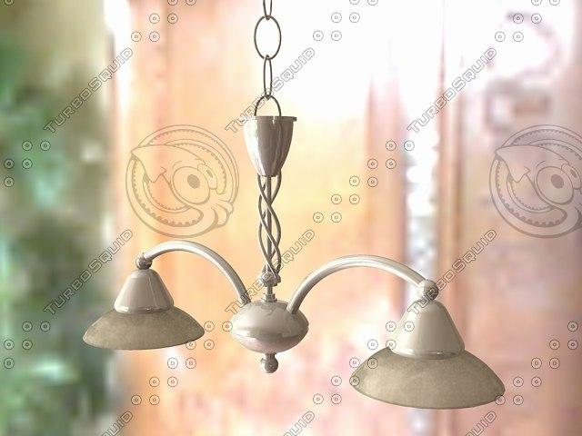 3d max pendant light