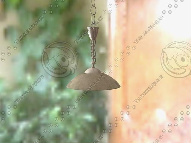3d hanging pendant