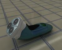 electric razor shaver 3d model