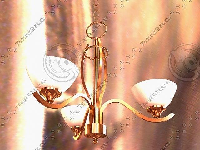 3d t chandelier