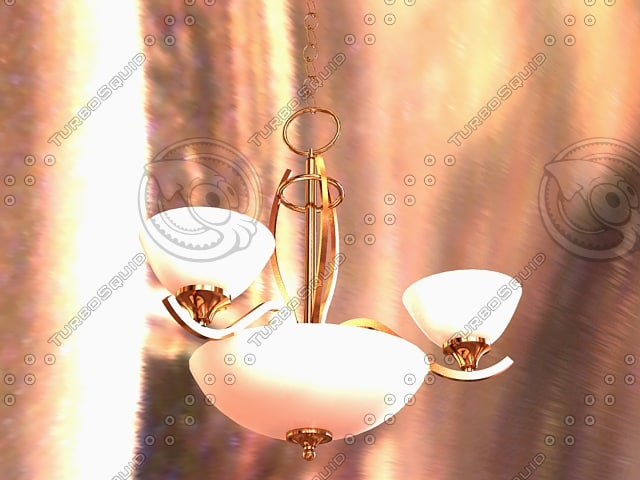 3d t chandelier model