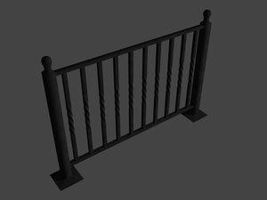 max wrought iron railing