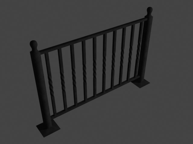 max wrought iron railing