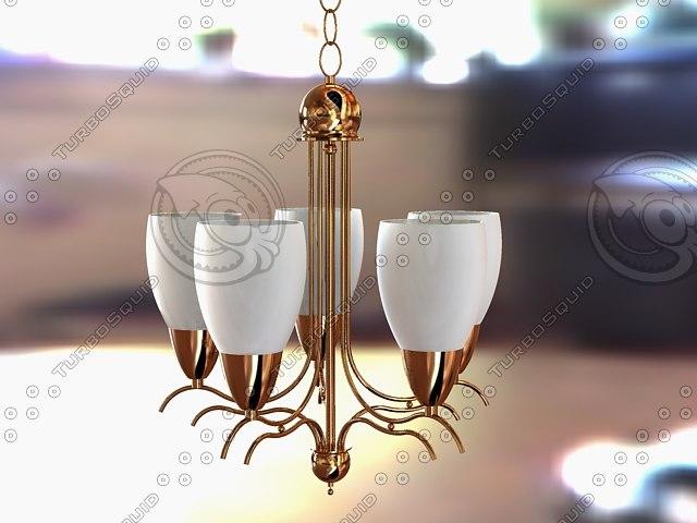 f chandelier 3d 3ds