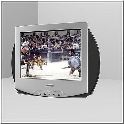 tv 3d obj
