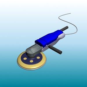 3d model sander tool