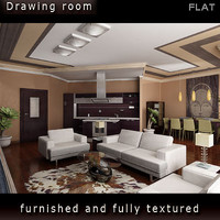 Apartment 3D. LIVROOM Includes