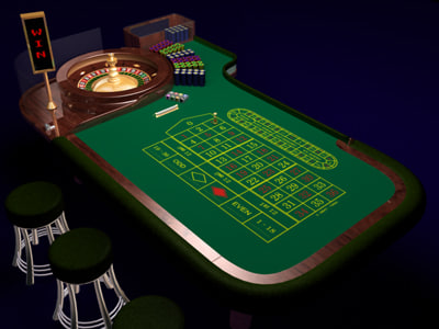 3d roulette model