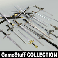 3ds max swords pc ps2