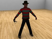 freddy krueger animation 3ds