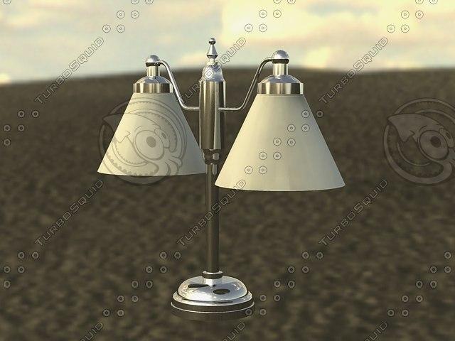 max table lamp n
