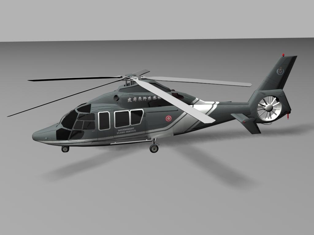max eurocopter ec-155b