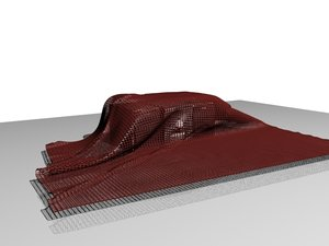 3d model of covered home theatre