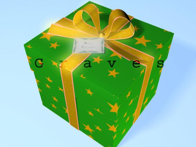 gift box opened max