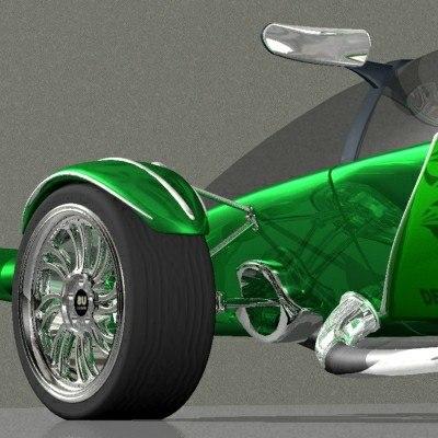 3d auto model