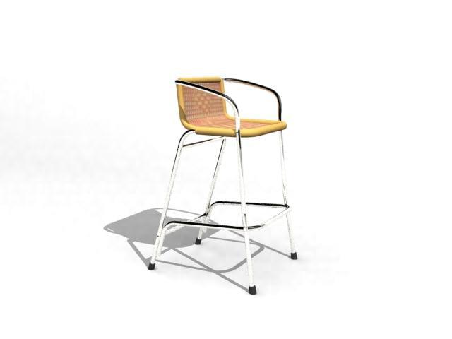 3d model chair