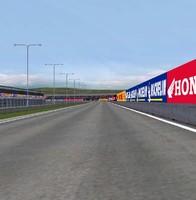 track speedway 3d model