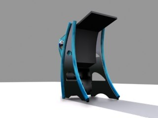 free virtual pinball 3d model
