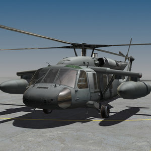 blackhawk tanks 3d model