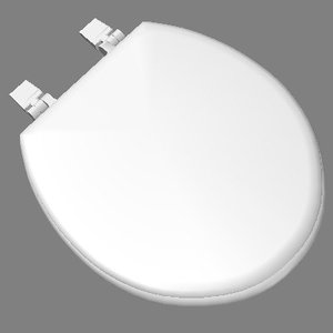 3ds max standard toilet seat