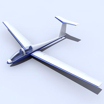 3ds max glide glider