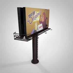 3ds billboard bill board