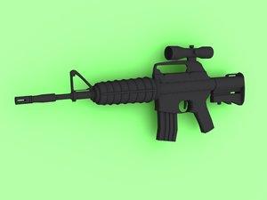 m4 assault rifle max free