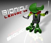 3d bionicle lehvak va lego