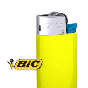 bic lighter 3d obj