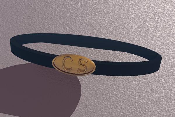 3ds max civil war belt buckle