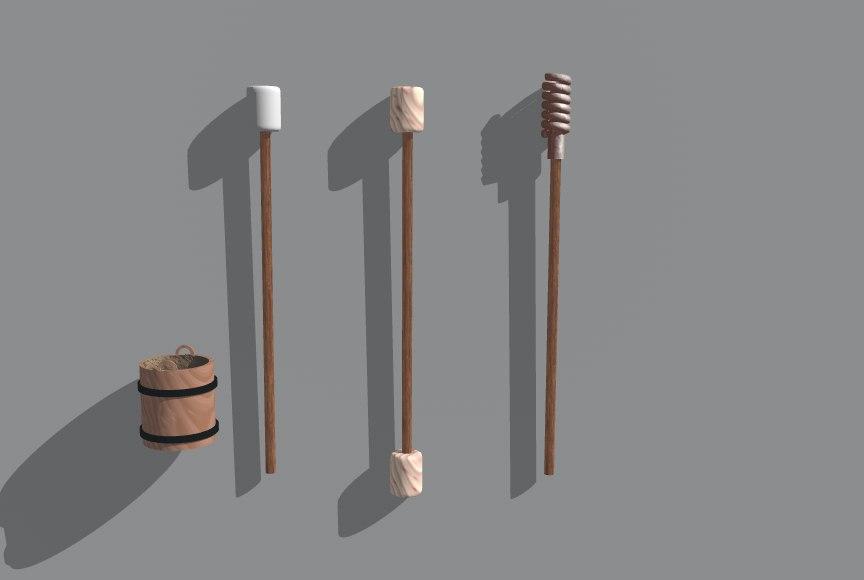 3d model tools civil war
