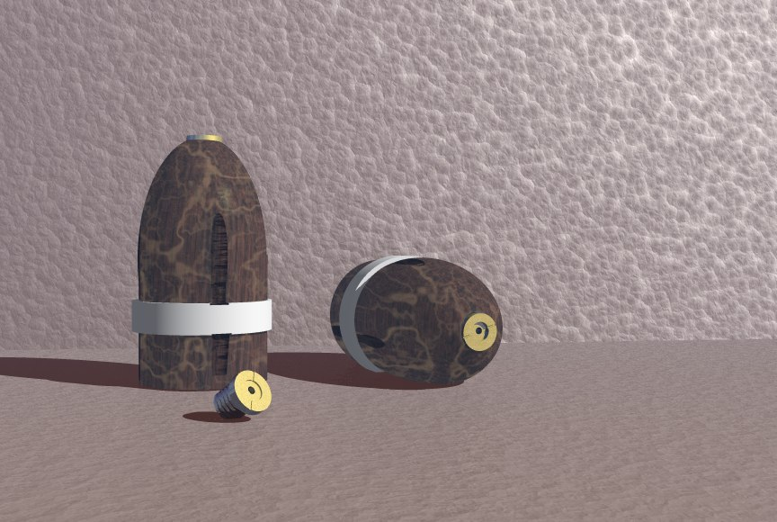 3ds max artillery shell