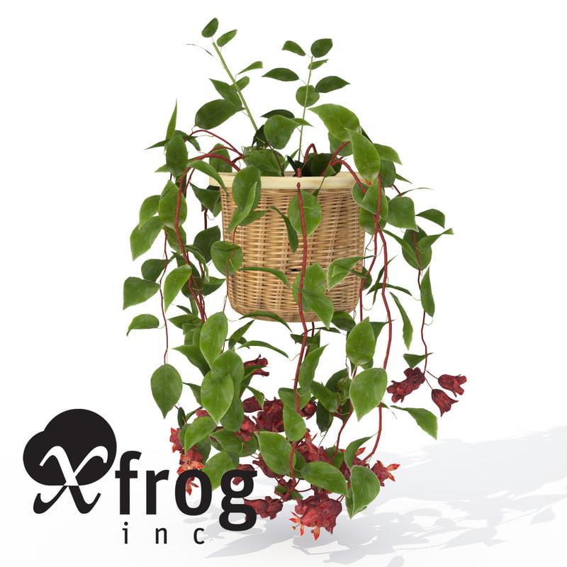 mona lisa plant 3d model