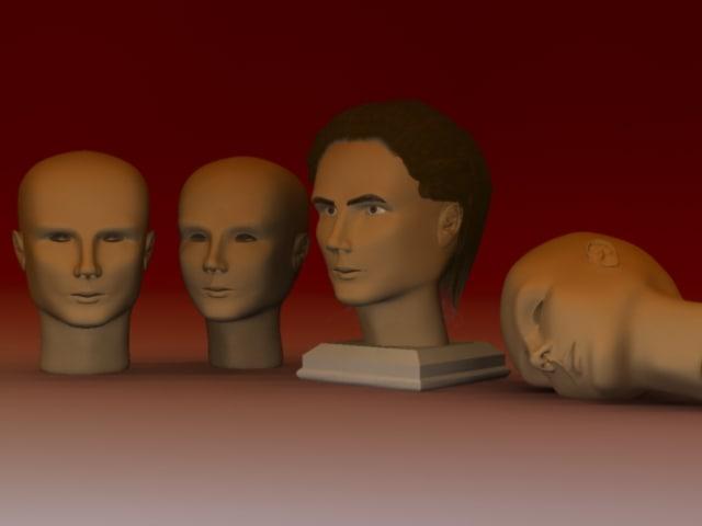 3d max self portray