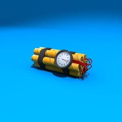 dynamite kit 3d model