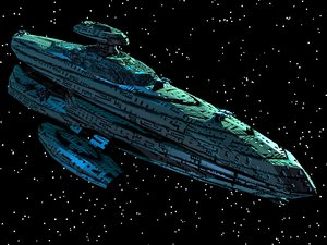 capital spaceship ships 3d 3ds
