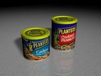 3d food peanuts