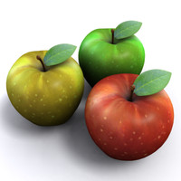 Apple - red, green, yellow