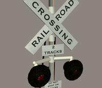 Pelican Railroad Crossing Signal