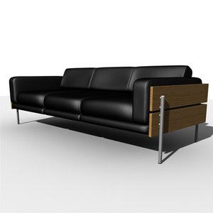 sofa robin day 3d model