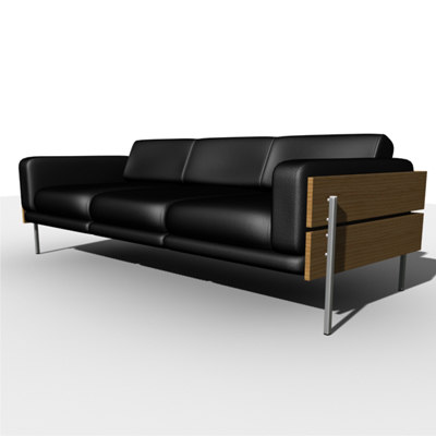 sofa robin day 3d model