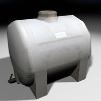 3d non-potable water container construction