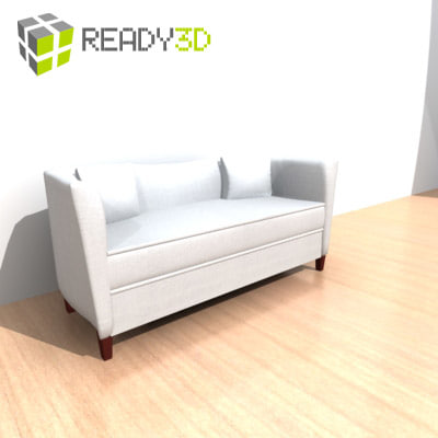 3ds max furniture couch