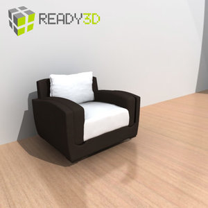 3ds max chair armchair