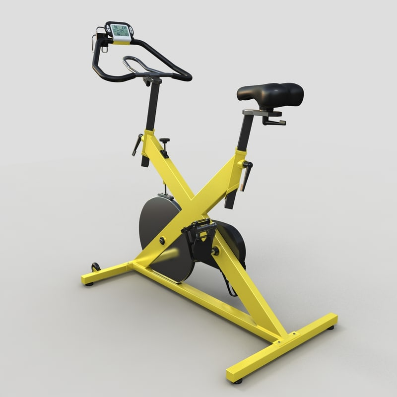 3d model cycle exercise