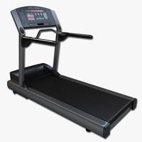 3d model treadmill gym equipment
